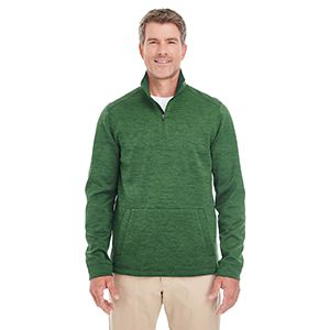Men's Newbury Mélange Fleece Quarter-Zip Thumbnail