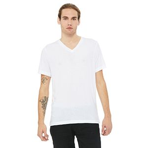 Unisex Triblend Short-Sleeve V-Neck T-Shirt Thumbnail